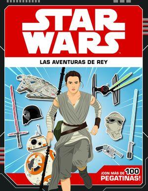 STAR WARS. LAS AVENTURAS DE REY. LIBRO PEGATINAS