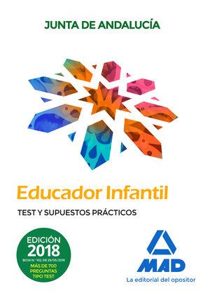 EDUCADOR INFANTIL. TEST Y SUPUESTPS PRÁCTICOS