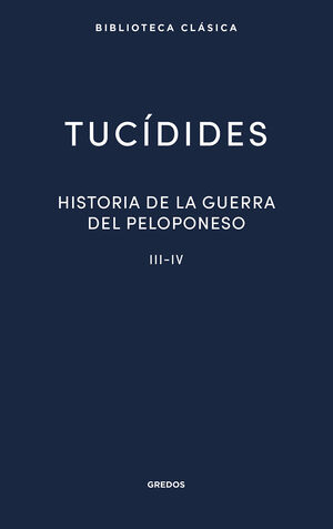 23. HISTORIA DE LA GUERRA DEL PELOPONESO III-IV