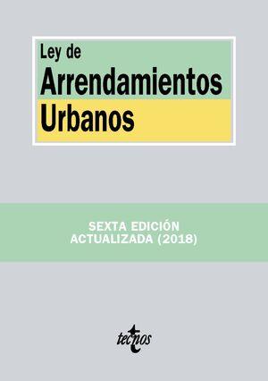 LEY DE ARRENDAMIENTOS URBANOS 2018