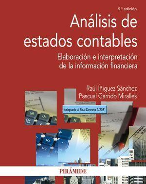 ANALISIS DE ESTADOS CONTABLES