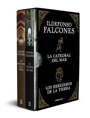 ILDEFONSO FALCONES (EDICIÓN ESTUCHE CON: LA CATEDRAL DEL MAR  LO