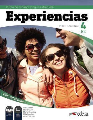 EXPERIENCIAS INTERNACIONAL 4 B2. LIBRO DEL ALUMNO