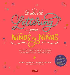 EL ABC DEL LETTERING PARA NIÑOS A Y NIÑAS